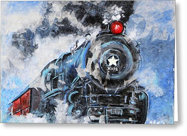 Hope Train  Greeting Card