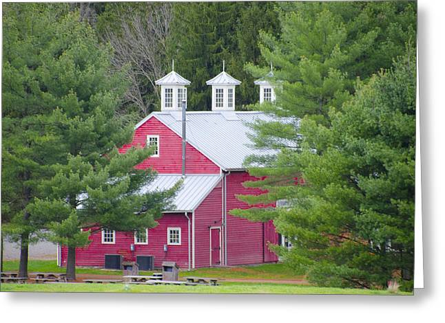 Hopewell Living History Farm Greeting Card by Bill Cannon