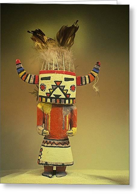Hopi Katchina Doll II Greeting Card
