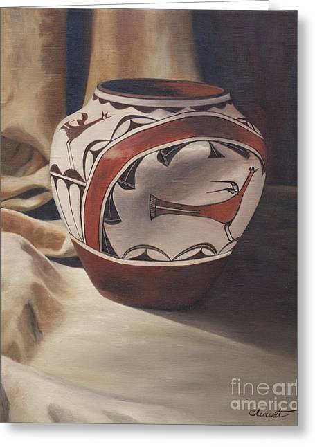 Hopi Pottery Greeting Card
