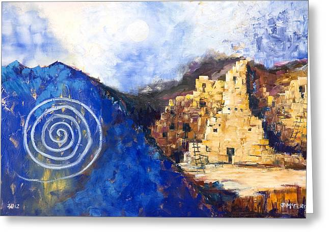 Hopi Spirit Greeting Card by Jerry McElroy