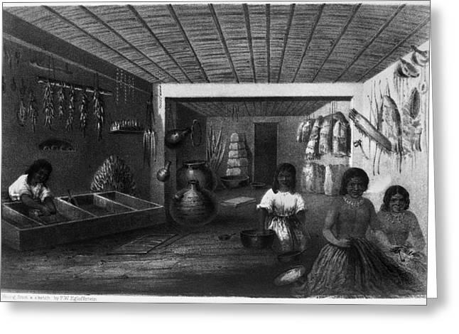 Hopi Women, C1858 Greeting Card by Granger