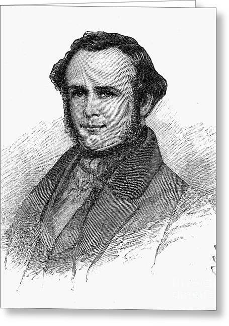 Horace Wells (1815-1848) Greeting Card by Granger