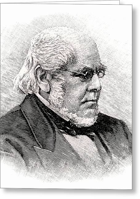 Horatio Allen Greeting Card by Universal History Archive/uig