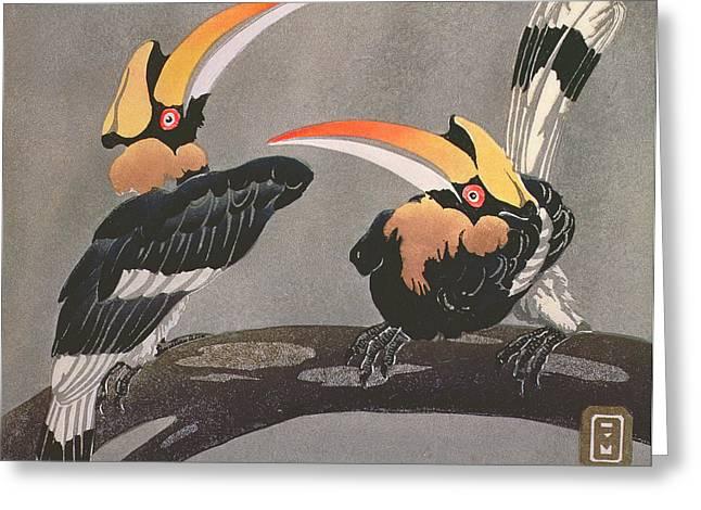 Hornbills Greeting Card