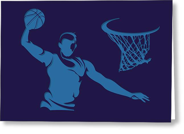 Hornets Shadow Player2 Greeting Card