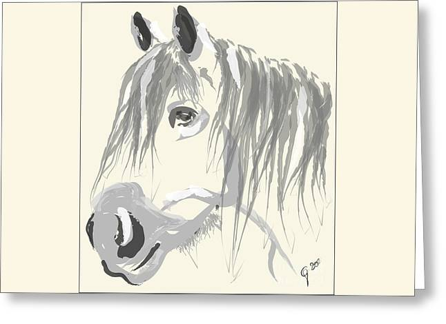 Horse- Big Jack Greeting Card