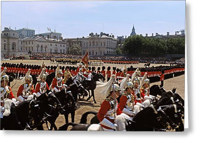 Horse Guards Parade, London, England Greeting Card