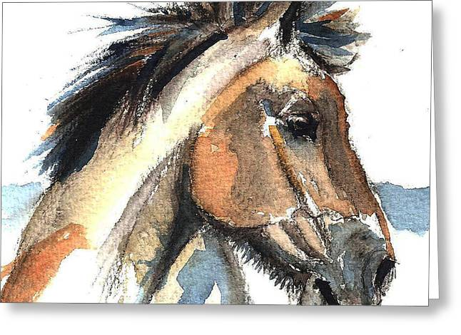 Horse-jeremy Greeting Card