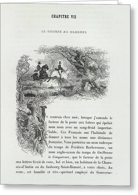Horse Riding Greeting Card by British Library