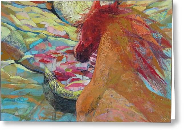 New Day Rising Greeting Card by GALA Koleva