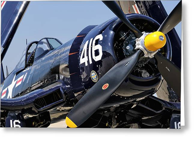 Navy Corsair Greeting Card