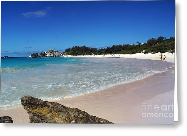 Horseshoe Bay Beach Greeting Card