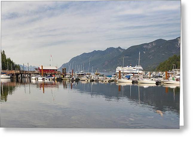 Greeting Card featuring the photograph Horseshoe Bay Vancouver Bc Canada by JPLDesigns