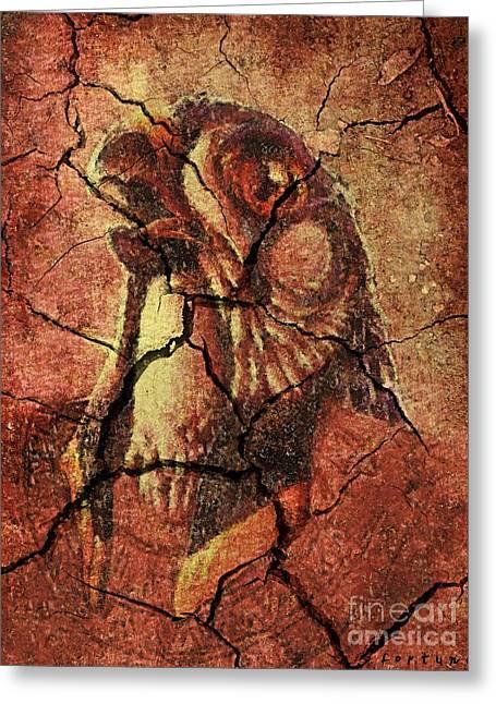Horus - Wall Art Greeting Card