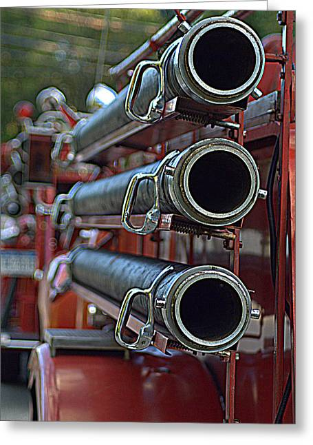 Hoses #2 Greeting Card