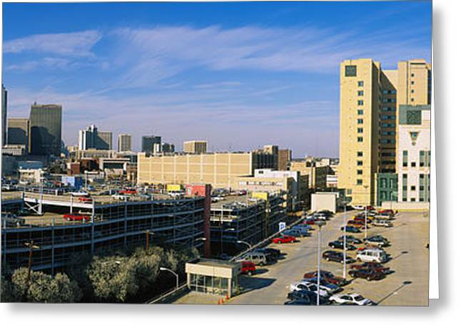 Hospital In A City, Grady Memorial Greeting Card by Panoramic Images