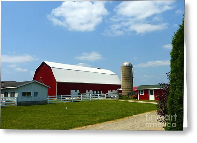 Hospitality Farm Greeting Card