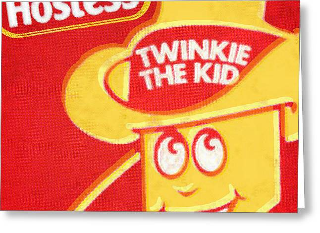 Hostess Twinkie The Kid Greeting Card by Tony Rubino