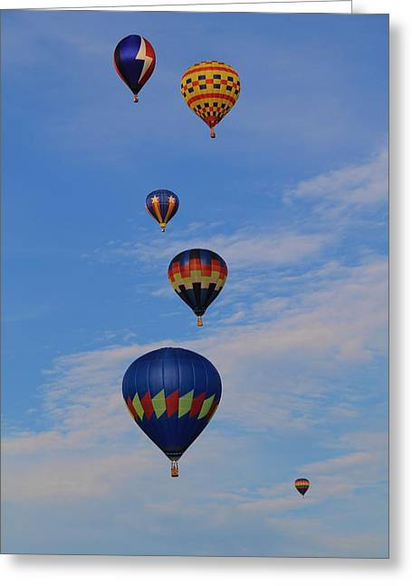 Hot Air Greeting Card by Dan Sproul