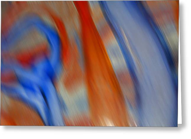 Hot And Cold Mixing Greeting Card by Greg Kluempers