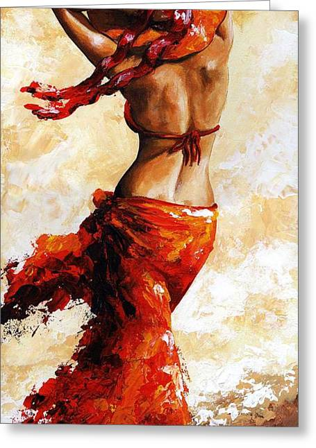 Hot Breeze 03 Greeting Card by Emerico Imre Toth