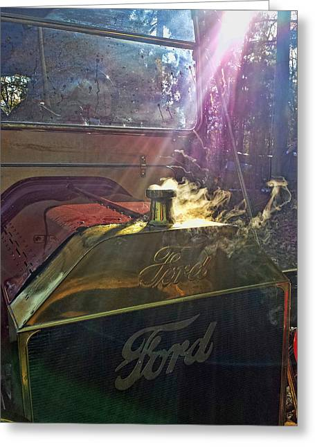 Hot Ford Greeting Card