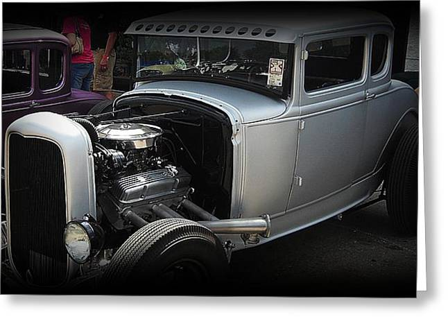 Hot Rod Coupe Greeting Card