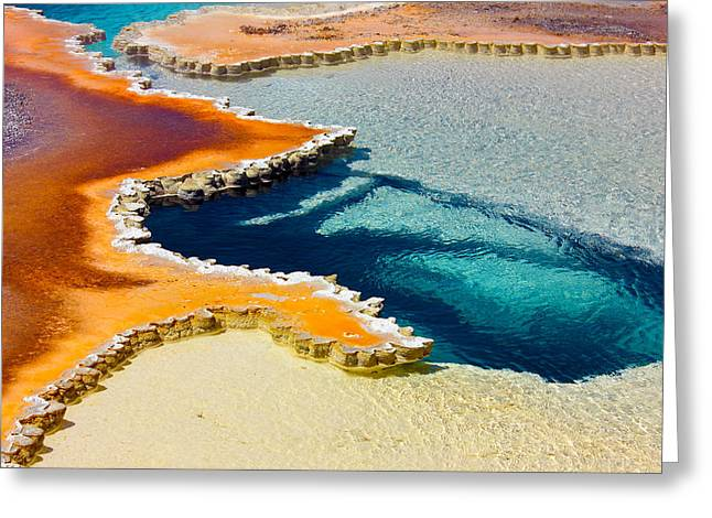 Hot Spring Perspective Greeting Card