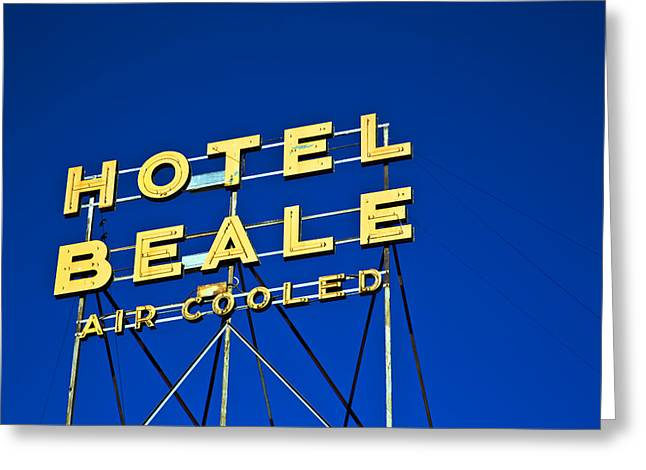 Hotel Beale Greeting Card