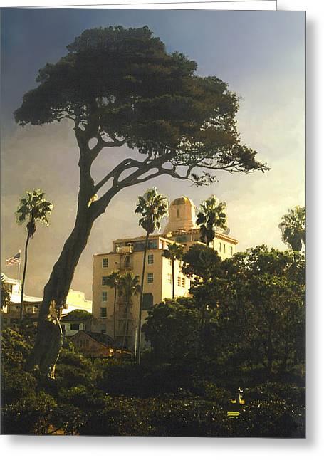 Hotel California- La Jolla Greeting Card