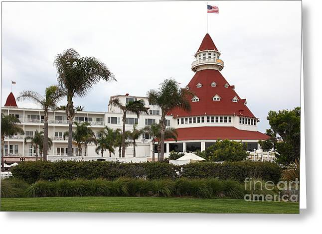 Hotel Del Coronado In Coronado California 5d24238 Greeting Card by Wingsdomain Art and Photography