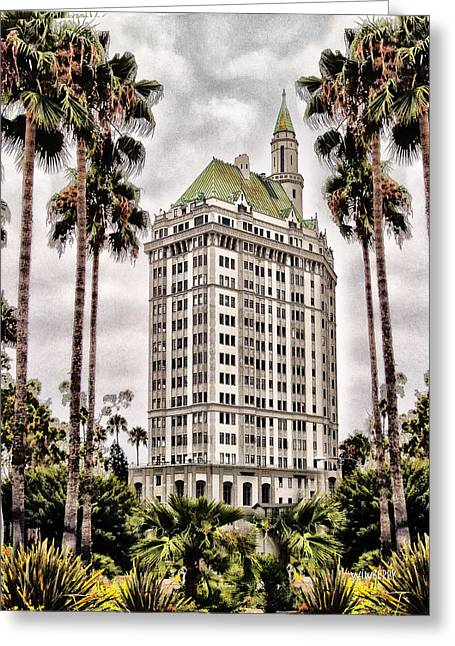 Hotel In Long Beach Greeting Card