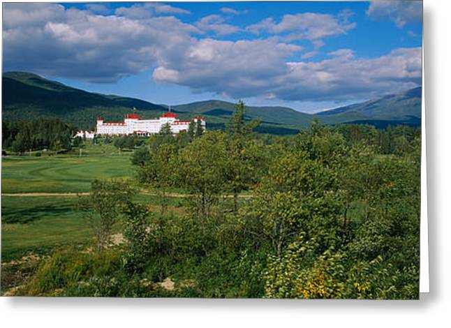 Hotel In The Forest, Mount Washington Greeting Card