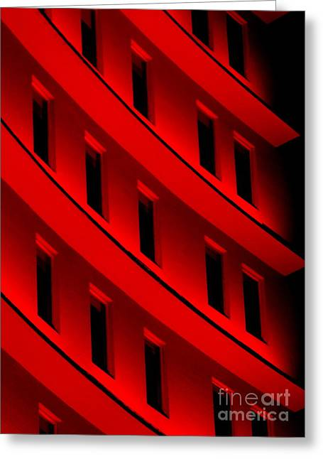 Hotel Ledges Of A New Orleans Louisiana Hotel #5 Greeting Card by Michael Hoard