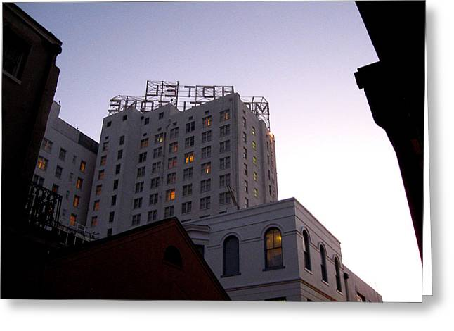 Hotel Monteleone Greeting Card
