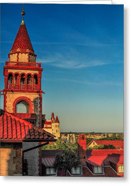 Hotel Ponce De Leon Greeting Card