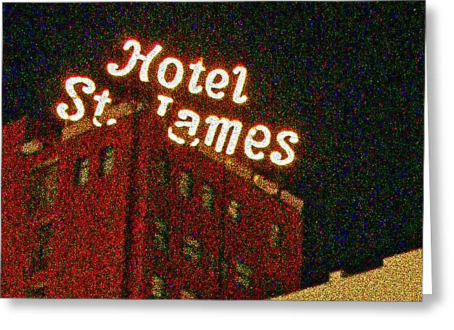 Hotel - St James San Diego Greeting Card