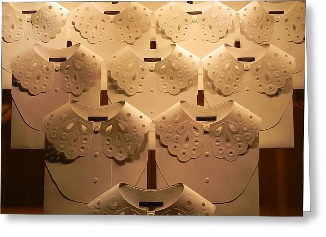 Louis Vuitton Window Display Greeting Card