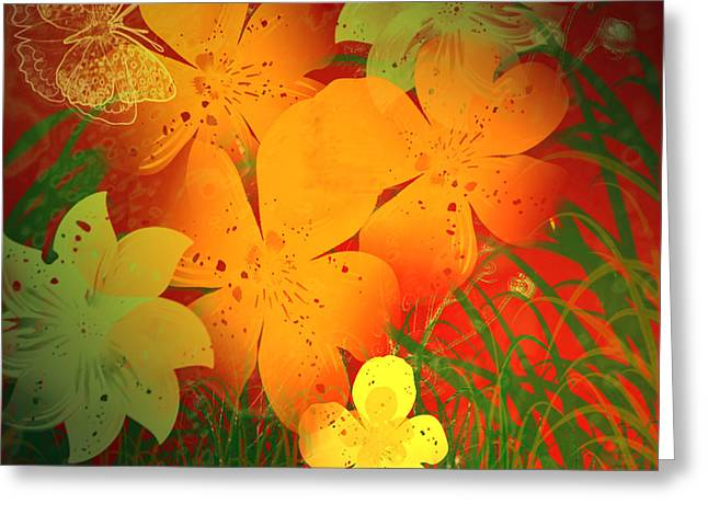 Hothouse Greeting Card by Kylie Sabra