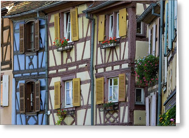 House, Colmar, Alsace, France Greeting Card