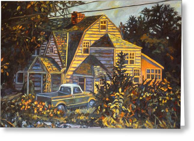 House In Christiansburg Greeting Card