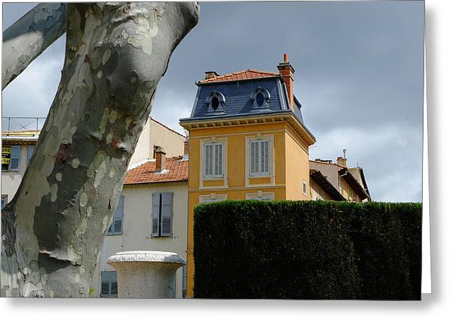 House In Grasse Greeting Card