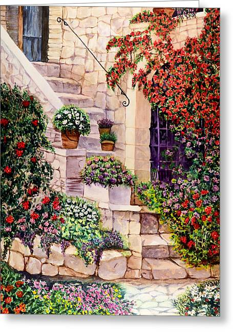 House In Oyster Bay Greeting Card by Sher Nasser