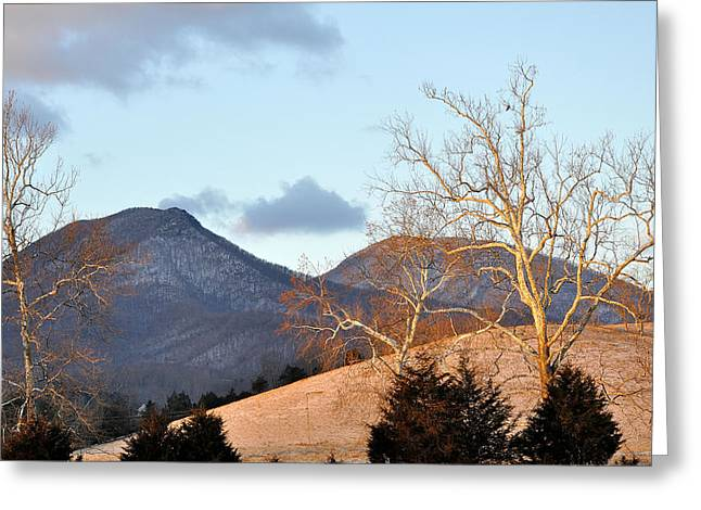 House Mountain Virginia Greeting Card by Todd Hostetter
