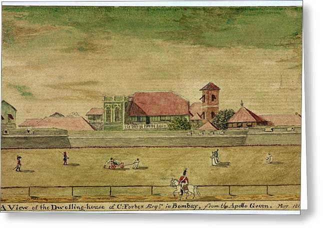 House Of C. Forbes Esquire In Bombay Greeting Card by British Library