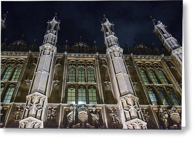 House Of Lords  Greeting Card by Bill Mock