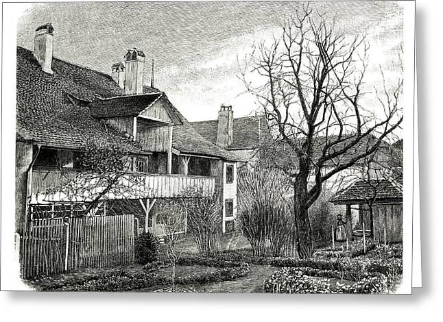 House Of Louis Agassiz Greeting Card
