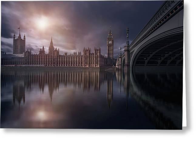 House Of Parliament Greeting Card