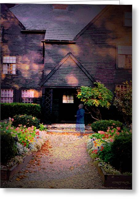 House Of Seven Gables Greeting Card